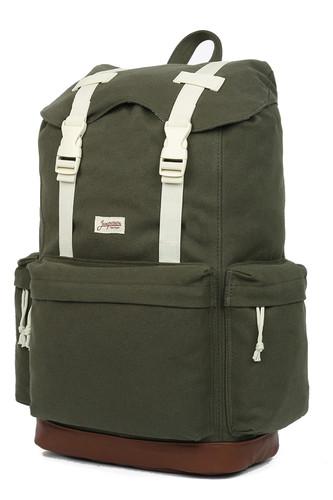 Рюкзак ЗАПОРОЖЕЦ Daypack Heritage SS17 (Green/Brown)