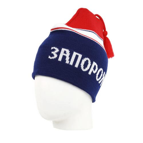 купить Шапка ЗАПОРОЖЕЦ Петушок (Red/Blue) по цене 1000 рублей