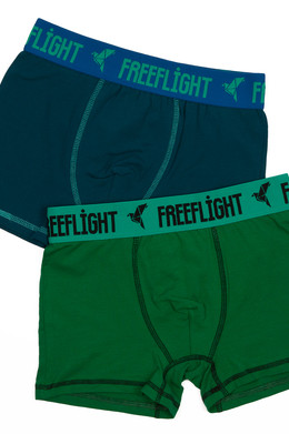Трусы FREE FLIGHT Vol.1 F-1702 Sea Wave/Green фото