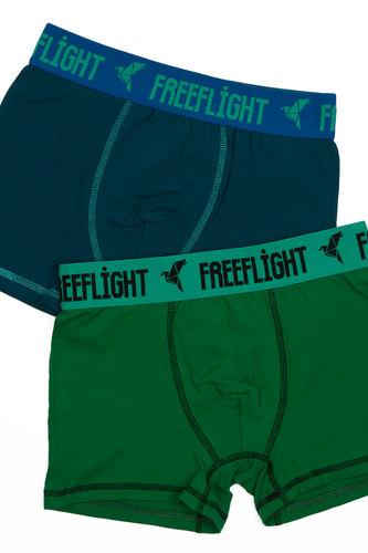 Трусы FREE FLIGHT Vol.1 F-1702 (Sea Wave/Green, XS)
