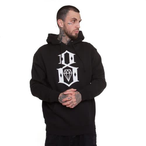 Толстовка REBEL8 Logo Pullover SS17 (Black, XL) цена
