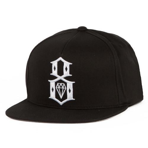 Бейсболка REBEL8 Logo Snapback (Black, O/S) все цены