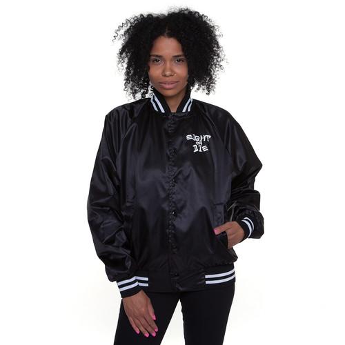 Куртка REBEL8 Eight Or Die Baseball Jacket женская (Black, L)