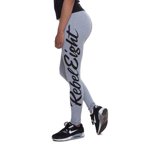 Леггинсы REBEL8 Script Leggings (Athletic Heather, XS)