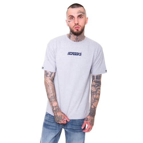 Футболка CROOKS & CASTLES Crooks Performance (Heather Grey-2, L) футболка crooks