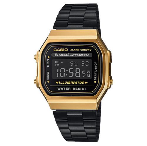 Часы CASIO A-168WEGB-1B (Золотой/Черный) все цены