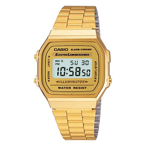 купить Часы CASIO A-168WG-9E 1275/3298 (Золотой) по цене 4170 рублей