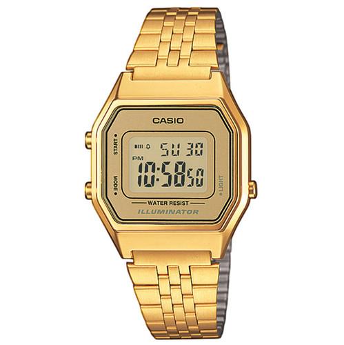 Часы CASIO LA680WEGA-9E 3284 (Золотой) все цены