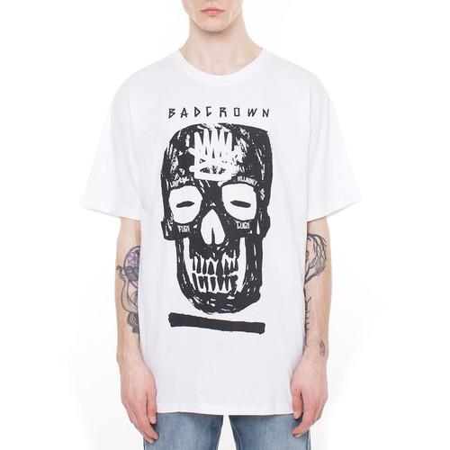 цена на Футболка BAD CROWN Modern Skull (Белый, 2XL)