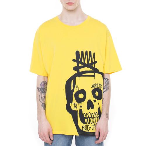 цена на Футболка BAD CROWN New Skull (Желтый, M)