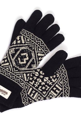 Перчатки ЗАПОРОЖЕЦ Perchatki (Black, S/M)