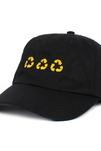 футболка ziq Бейсболка ZIQ & YONI Recycle (Черный, O/S)