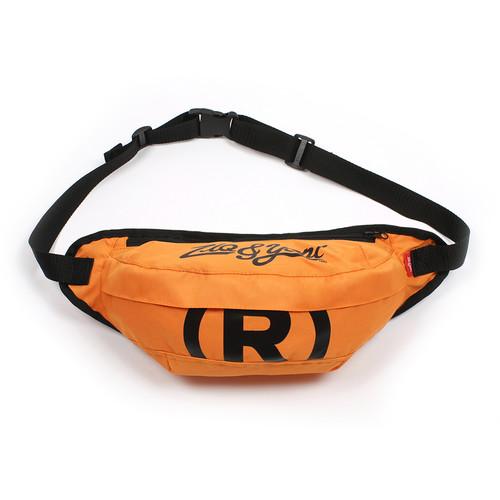 Сумка ZIQ & YONI R Logo на пояс (Оранжевый) сумка jaguar jm1103580106 1760