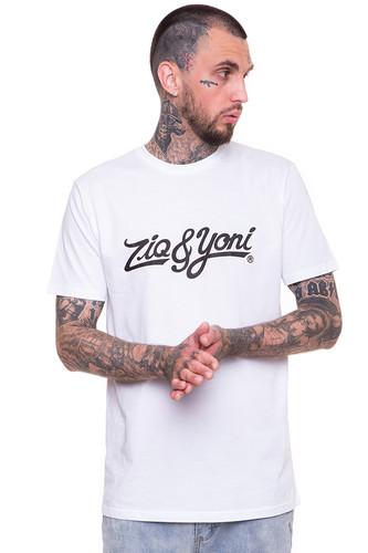 футболка ziq Футболка ZIQ & YONI Logo SS17 (Белый, 2XL)