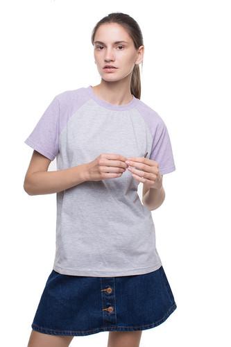 Футболка ЛИСИЧКИ (Grey-Lilac, XS/S)