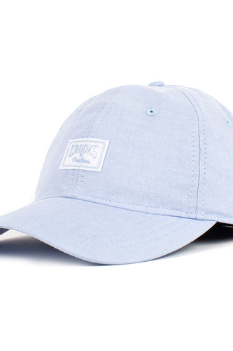Бейсболка CROOKS & CASTLES Sport Cap-Logo (Faded Blue, O/S) цена 2017