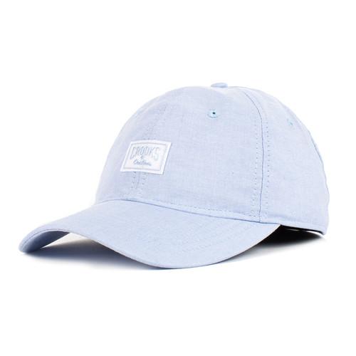 Бейсболка CROOKS & CASTLES Sport Cap-Logo (Faded Blue, O/S)