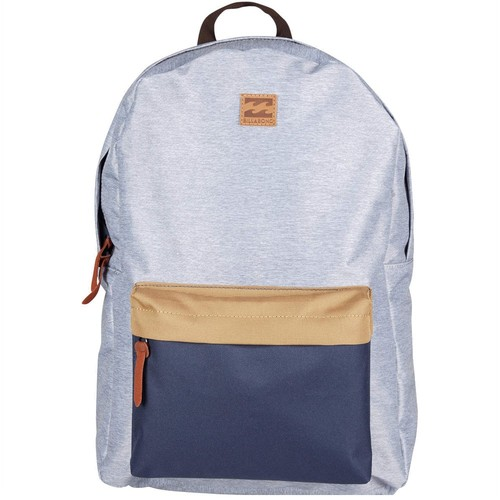 лучшая цена Рюкзак Billabong All Day Pack SS17 (Grey-Heather-Navy)
