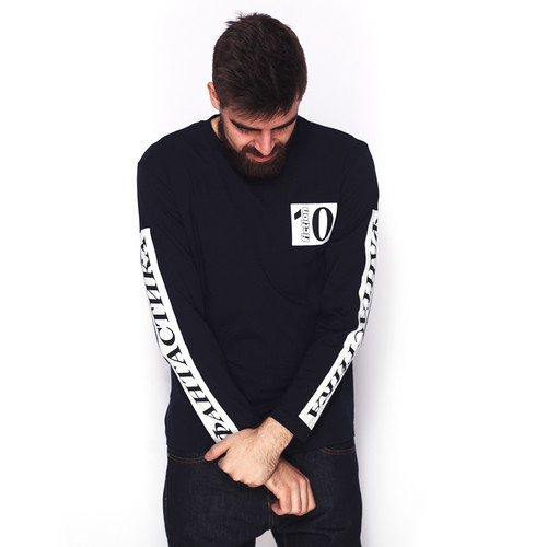 Футболка FICTION WEAR 10 (Темно-Синий, M) футболка fiction wear черная черный xl