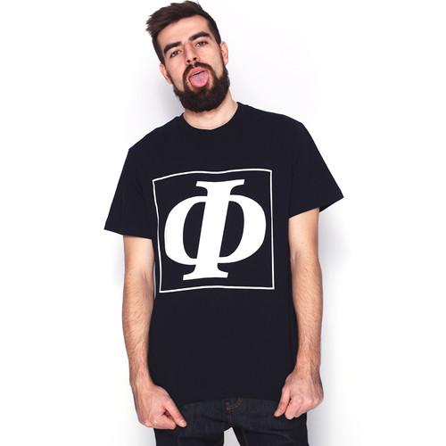 Футболка FICTION WEAR Ф (Темно-Синий, XL) футболка fiction wear черная черный xl