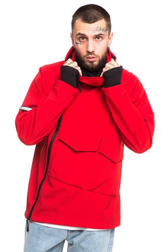 Анорак CODERED Ank Shell 2 COR (Красный, L) рубашка codered harbor чернильный синий молочный красный xl