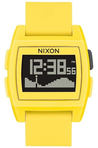 Часы Nixon Base Tide A/s Yellow Resin O/s (Yellow)