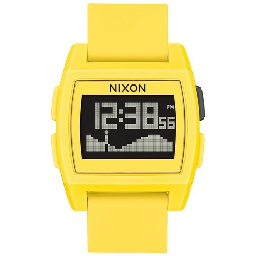 Часы Nixon Base Tide A/s Yellow Resin O/s (Yellow) недорго, оригинальная цена