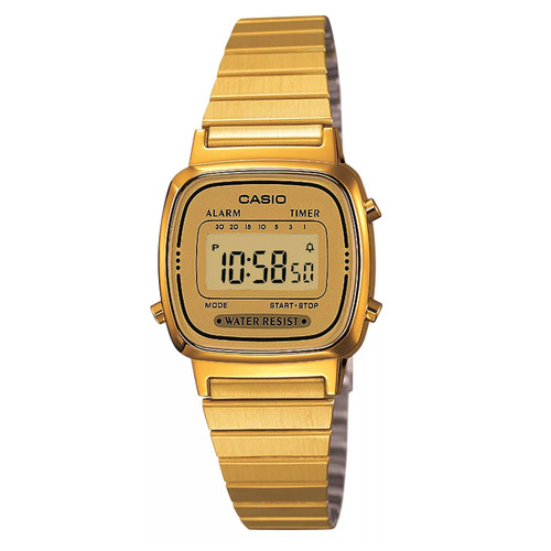 Часы CASIO LA670WEGA-9E 3191 (Золотой) цена