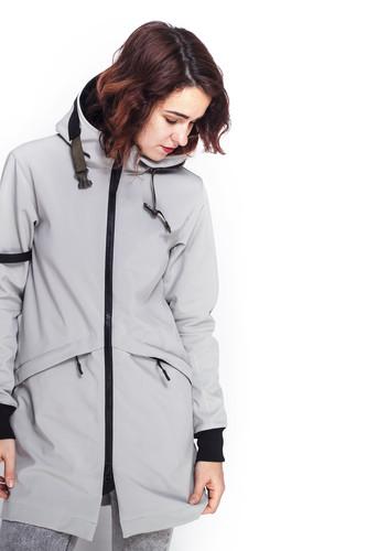 Куртка CODERED Allover 2 COR женская (Пепельный, M)