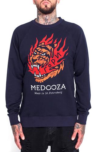 Толстовка MEDOOZA Гори (Темно-Синий, L) все цены