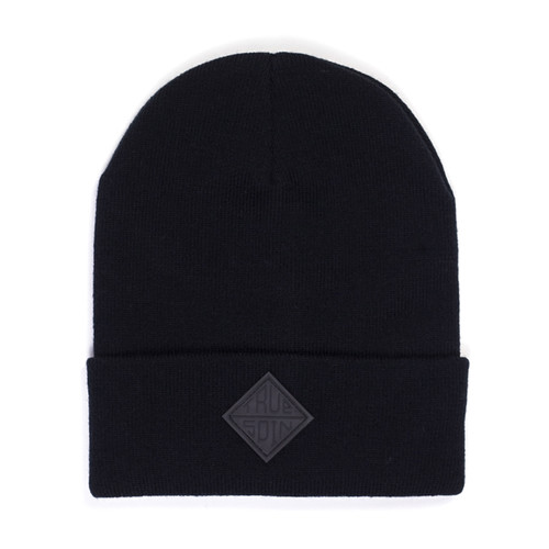 Шапка TRUESPIN Taper Beanie (Black) шапка truespin abc pompom beanie black yellow z