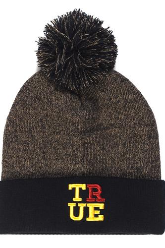 Фото - Шапка TRUESPIN 4 Letters True (Black/Beige) шапка true spin hope