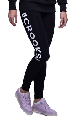 Леггинсы CROOKS & CASTLES Crooks Femme Leggings Black фото