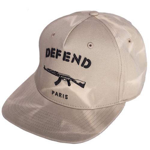 Бейсболка DEFEND TD Cap (Beige, O/S)