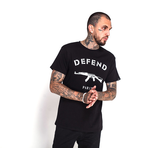 Футболка DEFEND Paris Tee (Black, S) defend футболка