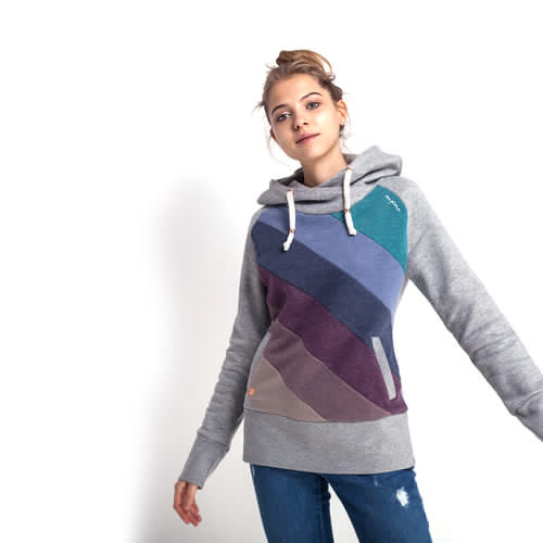 Толстовка MAZINE Tasty Hoody (Grey Melange/Multi Color, L)