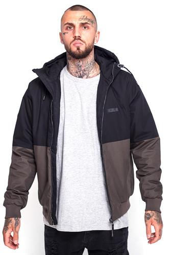 Куртка MAZINE Branston Campus Jacket (Black/Black Olive, XL)