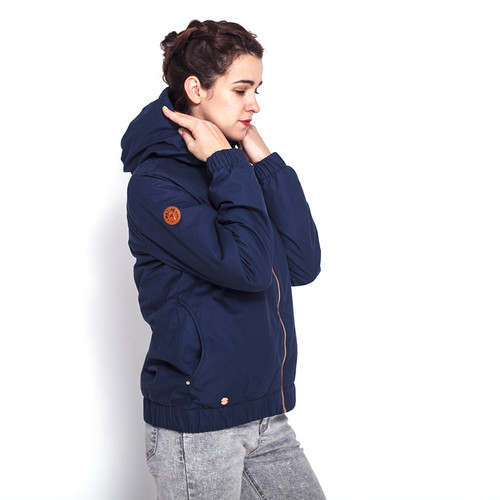 Куртка MAZINE Library Jacket женская (Navy, L) цена 2017