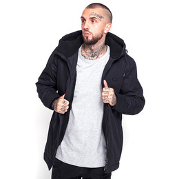 Куртка MAZINE Chester Parka All Black фото
