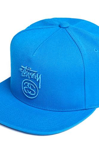 Бейсболка STUSSY Stock Lock FA17 (Blue, O/S) бейсболка stussy stock fa17 cap olive o s