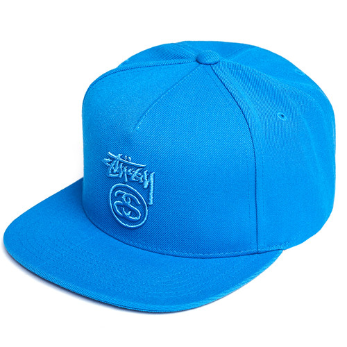 Бейсболка STUSSY Stock Lock FA17 (Blue, O/S) шапка stussy stock fa17 cuff beanie olive