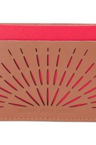 Кошелек HERSCHEL CHARLIE LEATHER (Pink/Red)