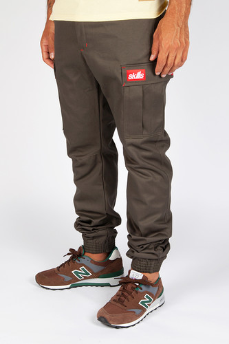 Брюки SKILLS Chino Pockets 2 (Khaki, XL)