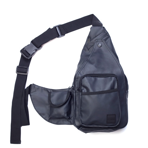 Сумка URBAN CLASSICS Multi Pocket Shoulder Bag (Black/Black)