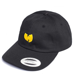 Бейсболка WU-WEAR Logo Dad Cap Black фото
