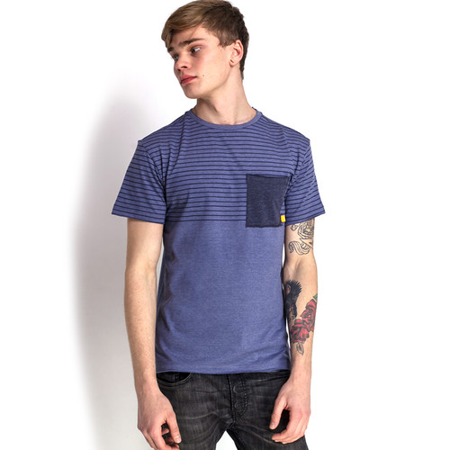 Футболка MAZINE Felton Striped T (Indigo Striped, S)
