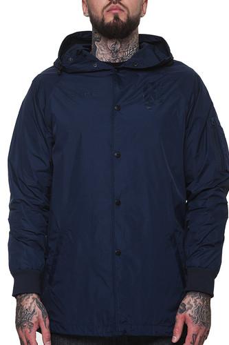 Куртка CROOKS & CASTLES Covert Parka (True Navy, L) брюки утепленные мужские burton covert pant цвет черный 13139103001 размер l 48 50