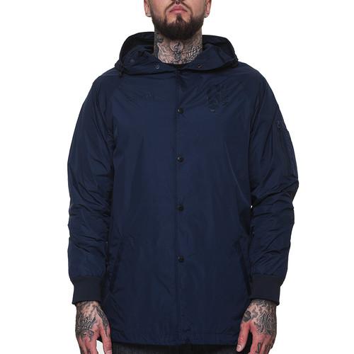 купить Куртка CROOKS & CASTLES Covert Parka (True Navy, L) по цене 2604 рублей