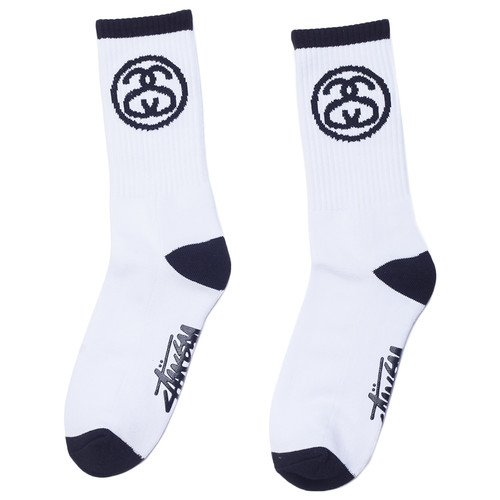 Носки STUSSY SS-Link Socks (White, O/S) цены онлайн