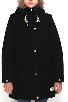 Куртка ЗАПОРОЖЕЦ Ladies Long Parka FW17 Black